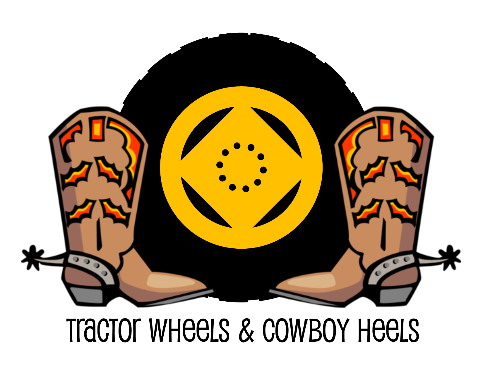 theme of fair: Tractor Wheels and Cowboy Heels